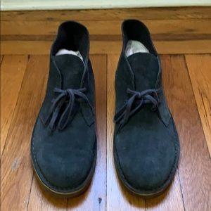 Clark's men lace up desert boots